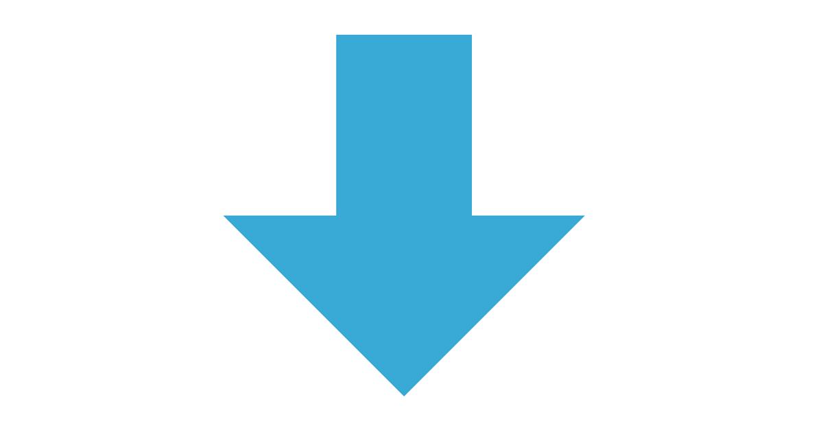 矢印(↓) – css arrow-down – | moru css アイコン (icon)